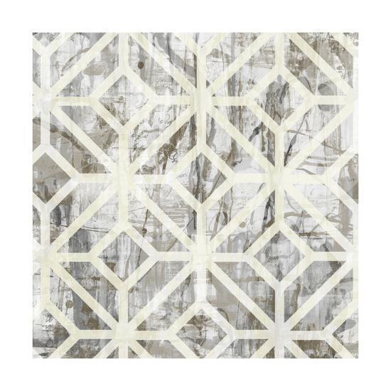 Neutral Metric III-Jennifer Goldberger-Art Print