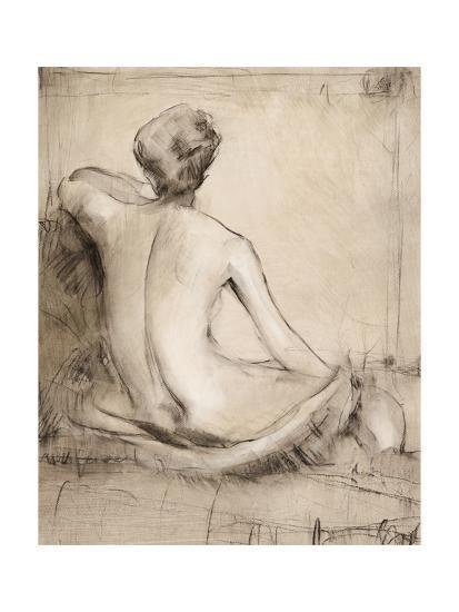 Neutral Nude Study I-Tim O'toole-Art Print