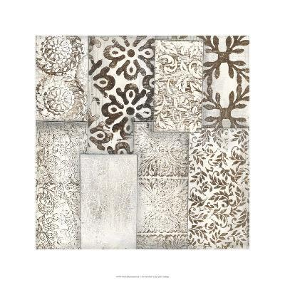 Neutral Patterned Patchwork I-Jennifer Goldberger-Limited Edition