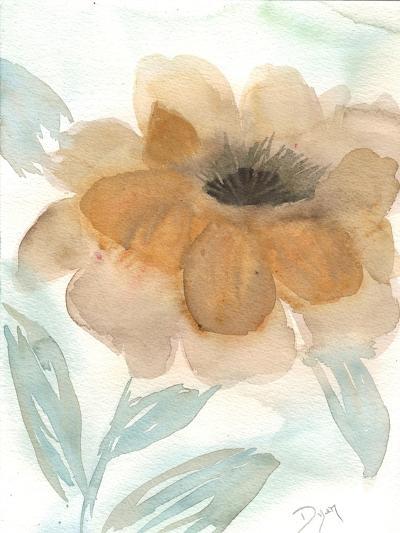 Neutral Peony II-Beverly Dyer-Art Print