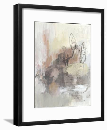 Neutral Pink I-Jennifer Goldberger-Framed Art Print