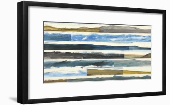 Neutral Plains Seascape 3-Kyle Goderwis-Framed Premium Giclee Print