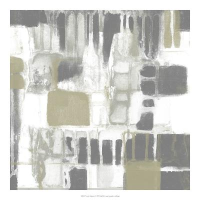 Neutral Quadrants I-Jennifer Goldberger-Giclee Print