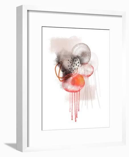 Neutral Space-Urban Epiphany-Framed Art Print