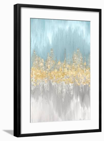 Neutral Wave Lengths II-Eva Watts-Framed Art Print