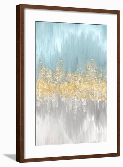 Neutral Wave Lengths II-Eva Watts-Framed Art Print