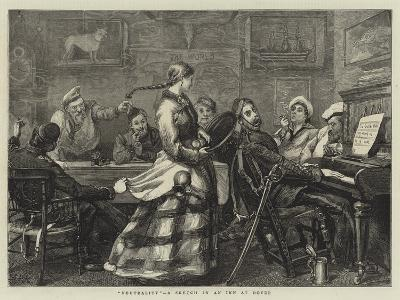 Neutrality, a Sketch in an Inn at Dover-Sydney Prior Hall-Giclee Print