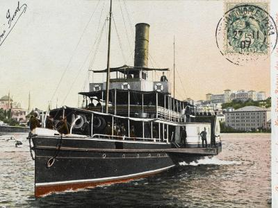 Nev-Esser - the Ferryboat from Istanbul to the Princes Islands--Photographic Print