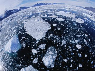 Ice in Nansen Fjord