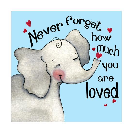 Never Forget Elephant-Jennifer Nilsson-Giclee Print