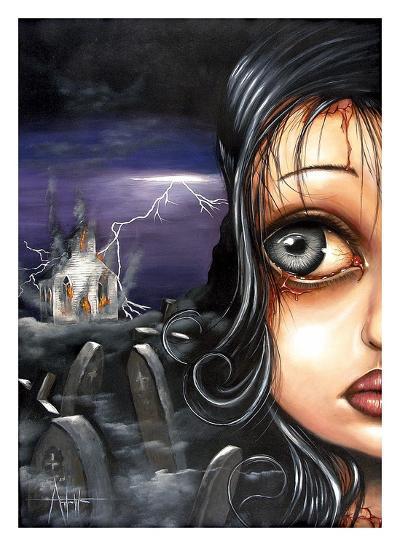 Never Look Back-Angelina Wrona-Art Print
