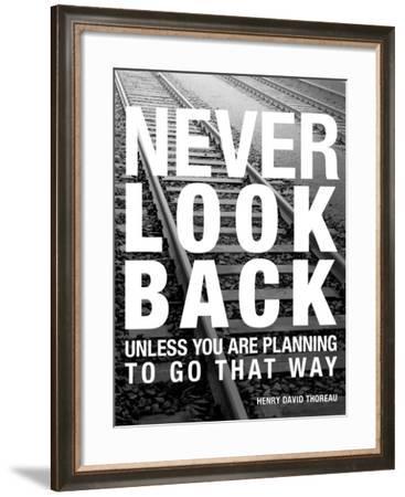 Never Look Back-Walter Bibikow-Framed Art Print