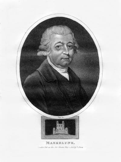 Nevil Maskelyne, Fifth British Astronomer Royal-Page-Giclee Print