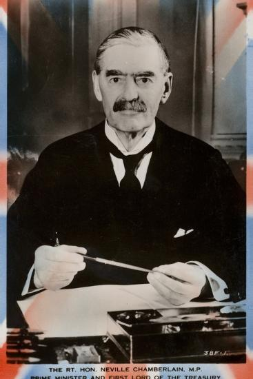 Neville Chamberlain--Photographic Print