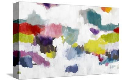 Nevis-Bluebellgray-Stretched Canvas Print