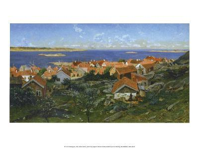 Nevlunghavn, Norway, 1881-Gerhard Munthe-Art Print