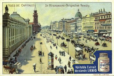 Nevsky Prospekt, St Petersburg--Giclee Print