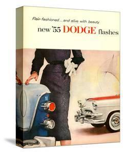 New '55 Dodge Flashes