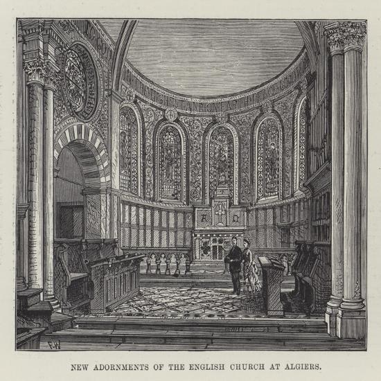 New Adornments of the English Church at Algiers-Frank Watkins-Giclee Print