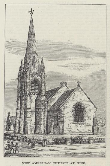 New American Church at Nice--Giclee Print