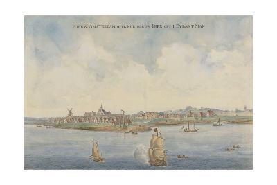New Amsterdam, C. 1660--Giclee Print