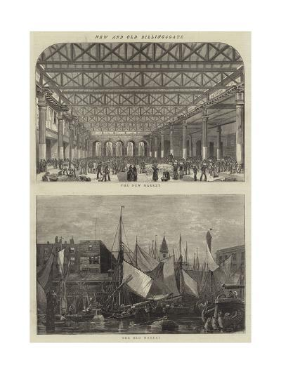 New and Old Billingsgate--Giclee Print