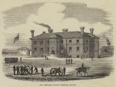 New Artillery Militia Barracks, Ipswich--Giclee Print