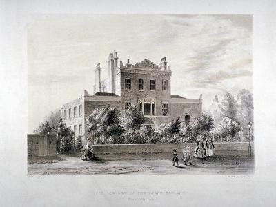 New Asylum for Infant Orphans at Stamford Hill, Stoke Newington, London, C1846-JT Balcombe-Giclee Print