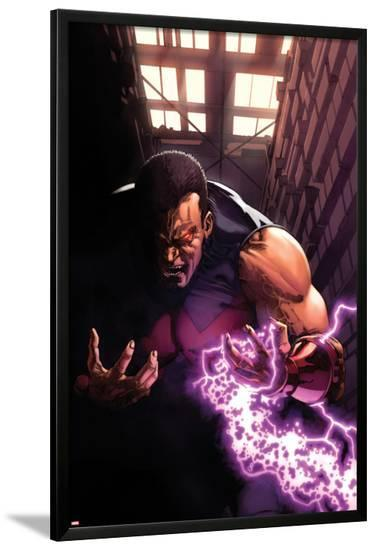New Avengers Annual No.1: Wonder Man Screaming with Energy-Gabriele DellOtto-Lamina Framed Poster