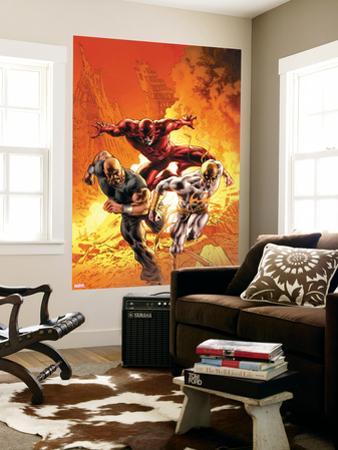 New Avengers No. 30: Iron Fist, Daredevil, Cage, Luke