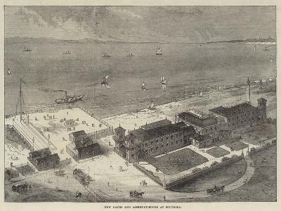 New Baths and Assembly-Rooms at Southsea--Giclee Print