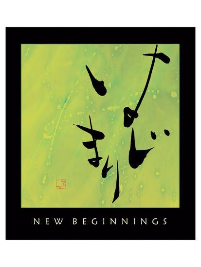 New Beginnings 1-Sybil Shane-Art Print