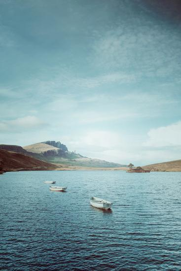 New Blue Day in Scotland-Philippe Sainte-Laudy-Photographic Print