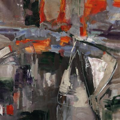 New Blue Scarf-Jodi Maas-Giclee Print