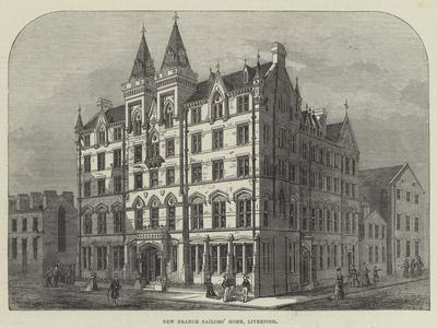 New Branch Sailors' Home, Liverpool--Giclee Print