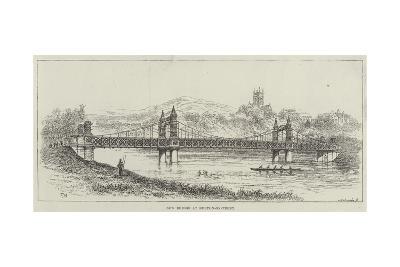 New Bridge at Burton-On-Trent-Frank Watkins-Giclee Print