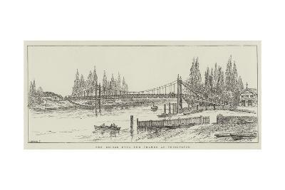 New Bridge over the Thames at Teddington-Frank Watkins-Giclee Print