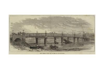New Bridge over the Thames at Wandsworth--Giclee Print