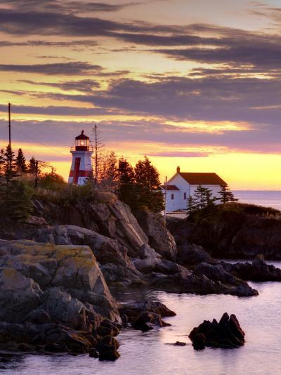 New Brunswick, Campobello Island, East Quoddy Lighthouse, Canada-Alan Copson-Photographic Print
