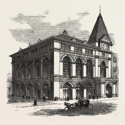 New Building of the Long Island Historical Society at Brooklyn to Be Opened January 4Th--Giclee Print