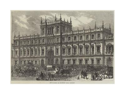 New Buildings of Burlington House, Piccadilly--Giclee Print