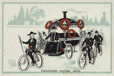 New Century - Funeral--Giclee Print