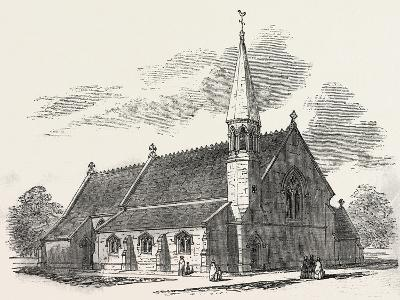 New Church, at Lambourne Woodlands, Berkshire, UK, 1851--Giclee Print