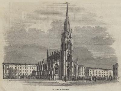 New Church at Paddington--Giclee Print