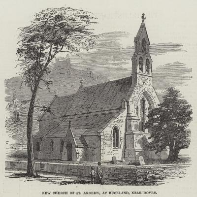 New Church of St Andrew, at Buckland, Near Dover--Giclee Print