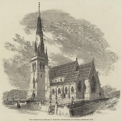 New Church of St Edward, at Romford, Consecrated on Thursday, 19 September--Giclee Print