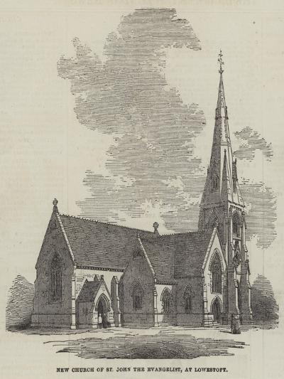 New Church of St John the Evangelist, at Lowestoft--Giclee Print