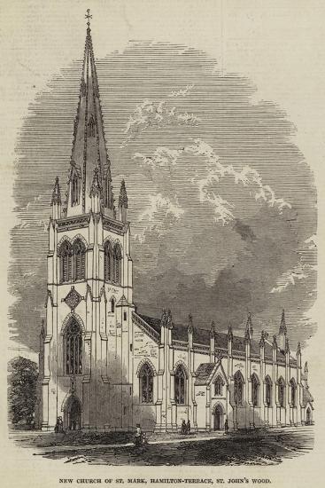New Church of St Mark, Hamilton-Terrace, St John's Wood--Giclee Print