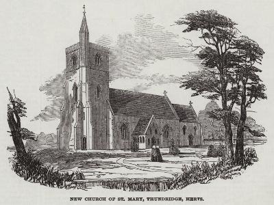 New Church of St Mary, Thundridge, Hertfordshire--Giclee Print