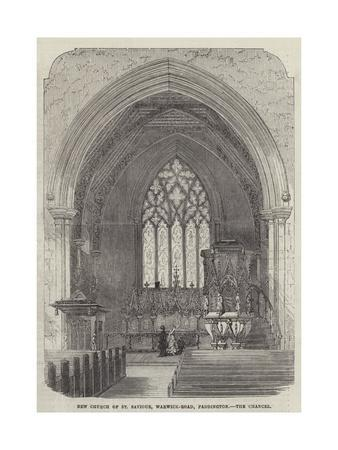 New Church of St Saviour, Warwick-Road, Paddington, the Chancel--Giclee Print